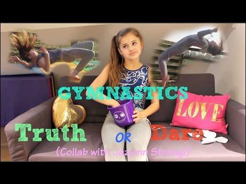 Gymnastics Truth or Dare! {Collab w/ Jazmyn Strong} || Ellie Louise