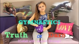 Gymnastics Truth or Dare! {Collab w/ Jazmyn Strong} || Ellie Louise