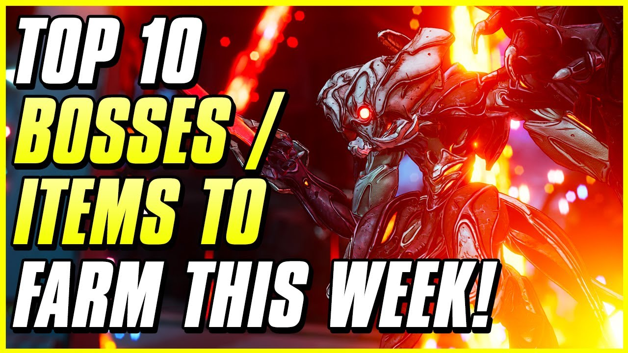 TOP 10 LEGENDARY ITEMS TO FARM BEFORE BONUS BOSS LOOT ENDS! | Borderlands 3 Farming Guide thumbnail