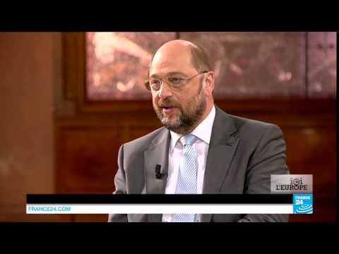 Débat entre Jean-Claude Juncker et Martin Schulz sur FRANCE 24