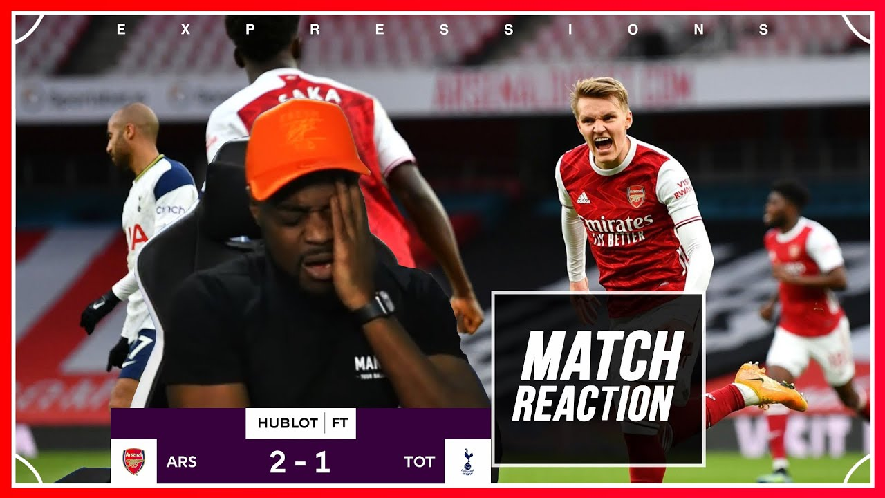 Download EMIRATES OR NEVERLAND ALWAYS GETTING TOUCHED I'M FUMING🤬!  Arsenal (2) vs Tottenham (1) EXPRESSIONS