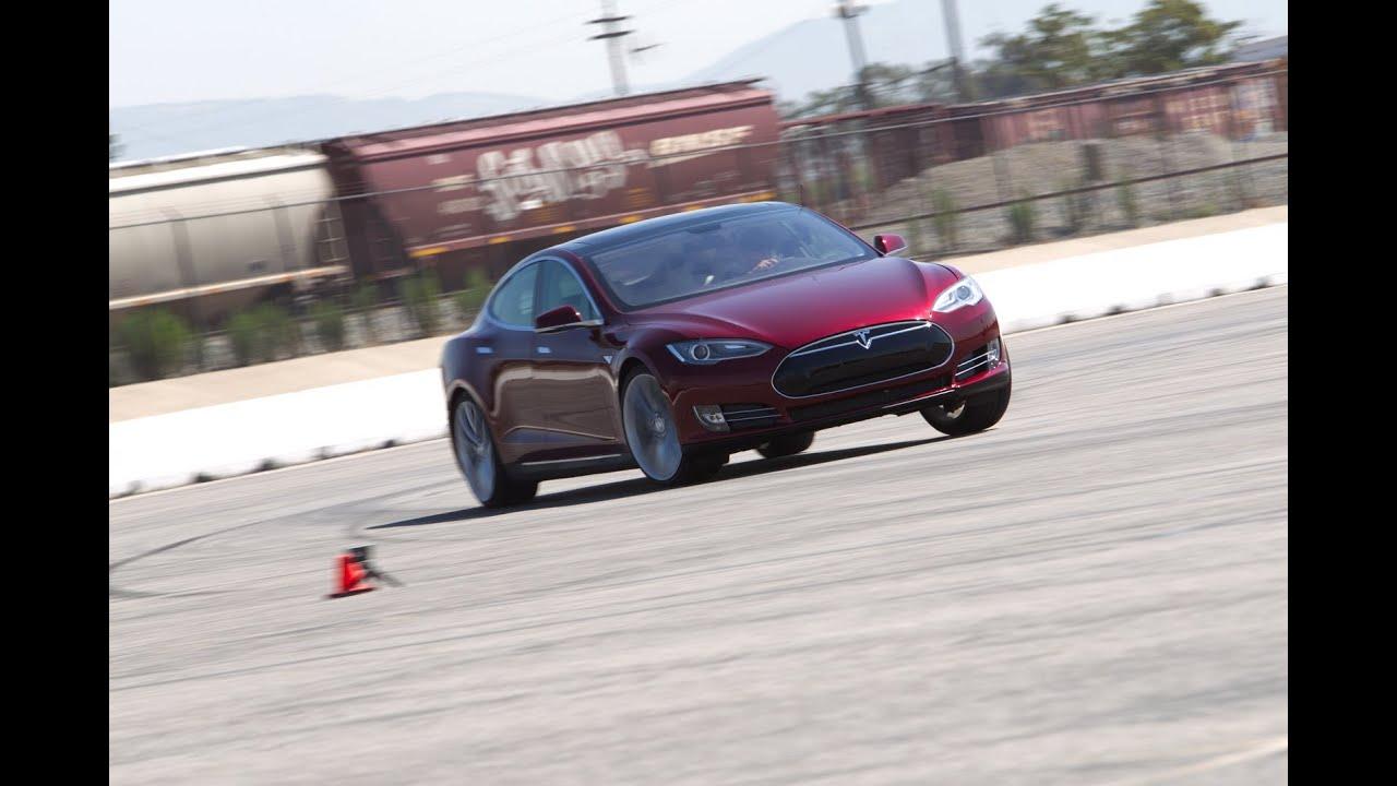 2017 Tesla Model S Track Tested Edmunds