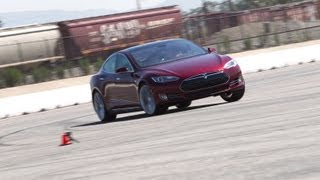 2012 Tesla Model S | Track Tested | Edmunds.com