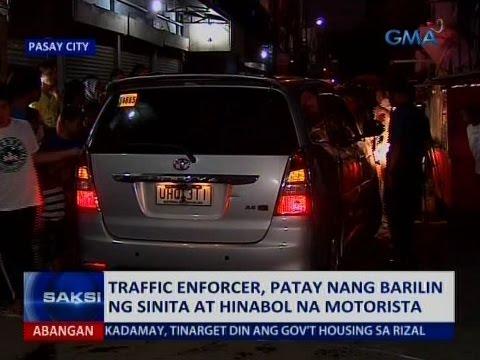 Saksi: Traffic enforcer, patay nang barilin ng sinitang motorist sa Pasay