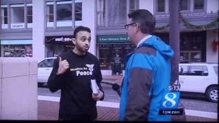 KGW Coverage of Portland Bomb Scare