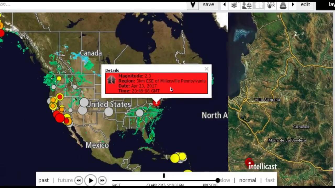 san francisco earthquake application alert