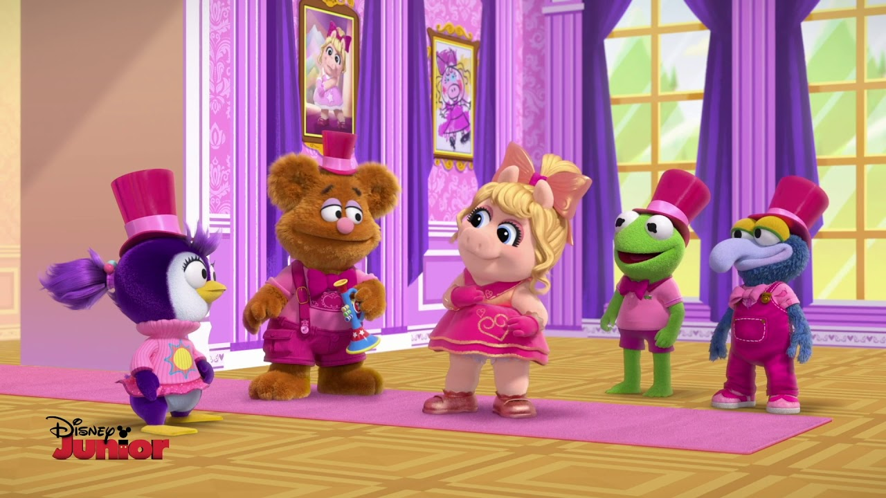 Clip: Animal's Gentlemanly Makeover in 'Muppet Babies' S2