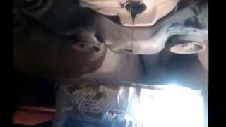 Замена масла в раздатке и заднем мосту двигатель 2 AZ