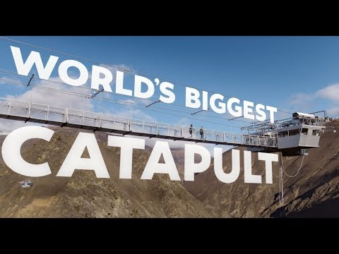*WORLD FIRST* Nevis Catapult - Queenstown, New Zealand