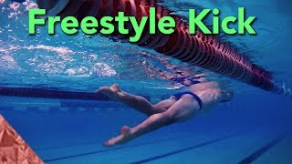 Freestyle kick technique. Swimming front crawl. Improve your position thumbnail