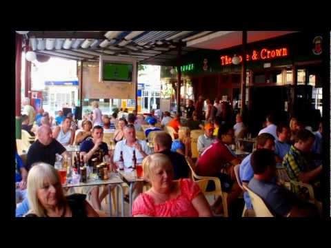 The Rose & Crown Karaoke and Sports Bar in Benidorm