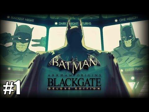Batman: Arkham Origins Blackgate - Part 1 - Catwoman Is That You? [Deluxe Edition Walkthrough] |