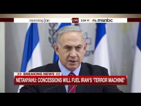 Mike Barnicle on Benjamin Netanyahu's reaction to the U.S nuclear deal with Iran (14 July 2015)