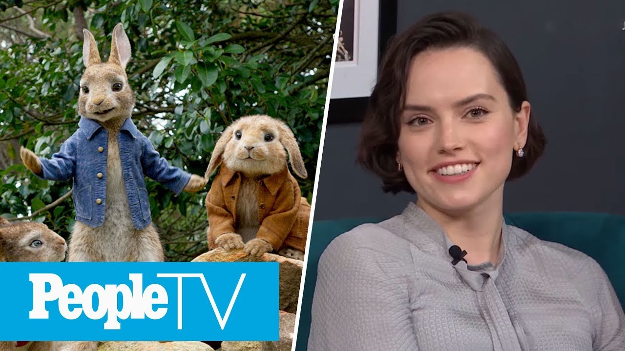 Daisy Ridley Almost Got To FaceTime Her Peter Rabbit Co-Star, Sia | PeopleTV