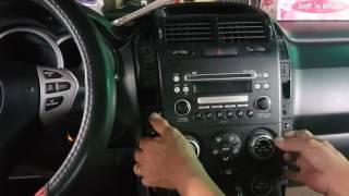 Jeff tan tutorial / suzuki vitara / stereo panel removal