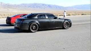 600 HP Chrysler 300C VS. Modded GTR w Straight pipes