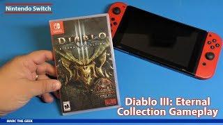 Nintendo Switch Diablo III: Eternal Collection Gameplay