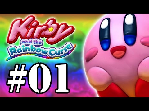 Let's Play: Kirby and The Rainbow Curse - Parte 1 - O Poder do Pincel