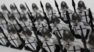 Lego Crusaders - Teutonic Knights Army