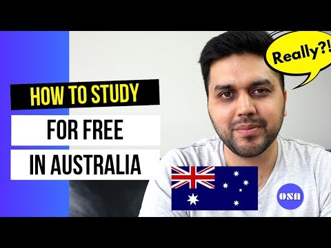 How To Study For Free In Australia | Scholarships For International Students