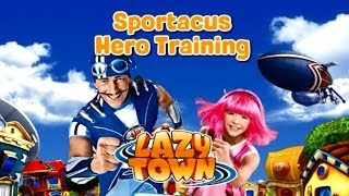 Lazy Town Sportacus Hero Training Game for Kids Full HD Baby Video