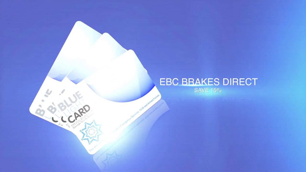 EBC Brakes - Blue Light Card Deal