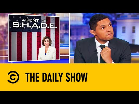 Conservatives Lash Out At Pelosi For Ripping Up Trump's Speech   The Daily Show With Trevor Noah