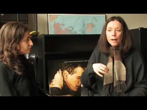 Mentor Barbara Willis Sweete advises Director Sony...