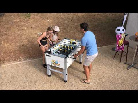 Masa de fotbal solar,wifi gratis, 4 prize USB