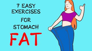 Top 10 Exercises - Lose Your Belly Fat Like Crazy With These 7 Exercises ! | How Lose Belly Fat Fast | Healthpedia