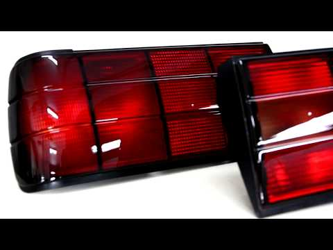 BMW e30 Lampy tylne red-black edition by D1