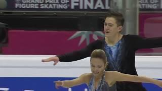 Фигурное катание. Финал Гран-при 2019. Спортивные пары. Короткая программа. Павлюченко и Ходыкин.