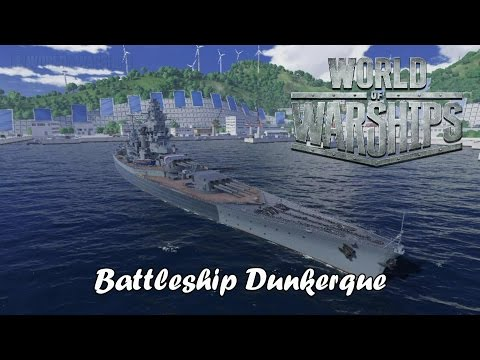 World of Warships - Battleship Dunkerque
