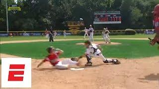 Rhode Island wins Little League World Series New England elimination game with walk-off hit | ESPN