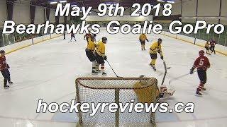 May 9th 2018 Bearhawks Hockey Goalie GoPro