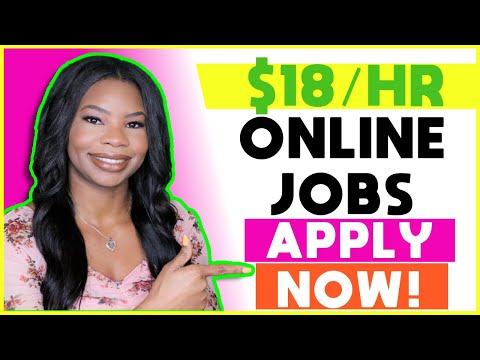 🏡 $18 HOURLY Work-From-Home Jobs! Paid Training + No Experience Required | Apply TODAY!