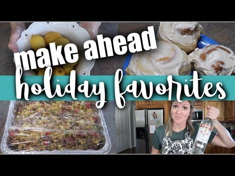 Make Ahead Holiday Favorites For Your Freezer | Cooking With Friends!