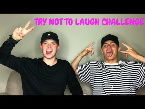 TRY NOT TO LAUGH CHALLENGE  w Jack