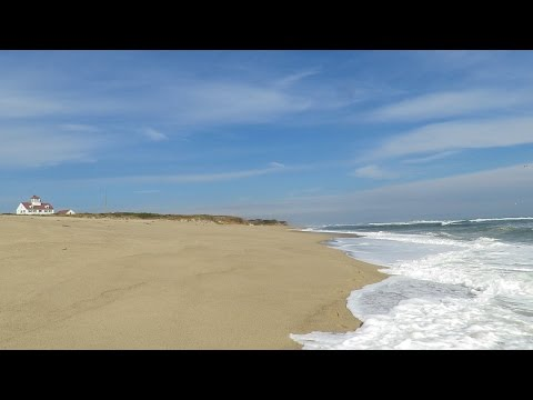 A minute of bliss at Coast Guard Beach, Cape Cod