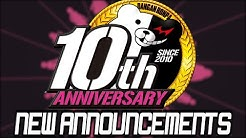 NEW DANGANRONPA 10TH ANNIVERSARY ANNOUNCEMENTS