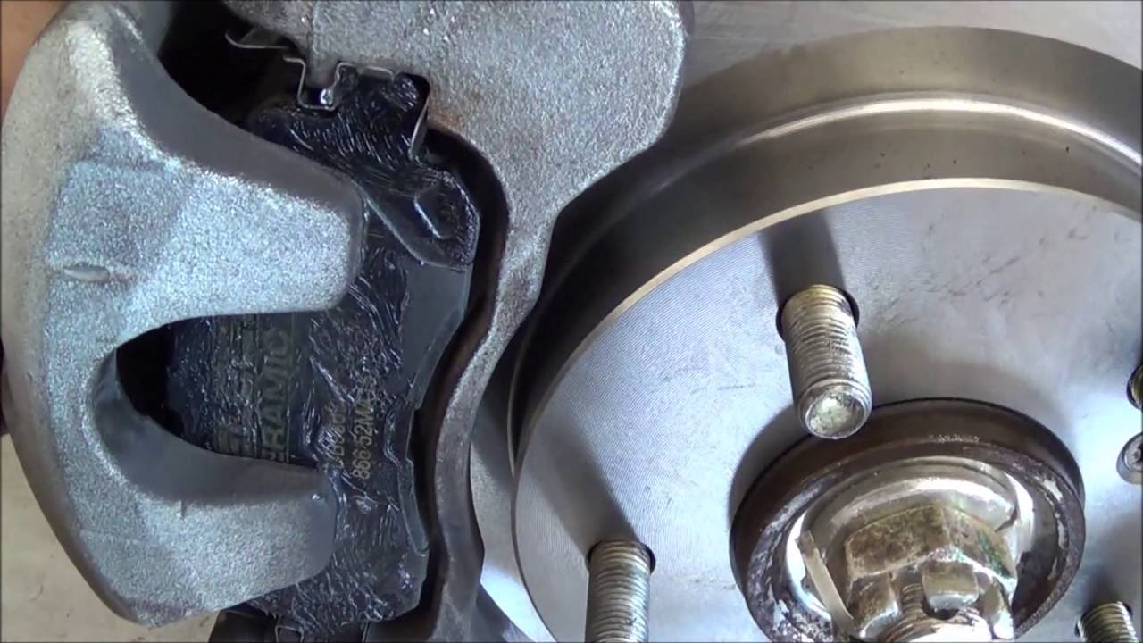 small resolution of mitsubishi eclipse front brakes 06 12
