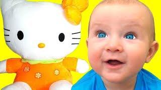 Três gatinhos - canção para crianças   Canções infantis   Katya e Dima
