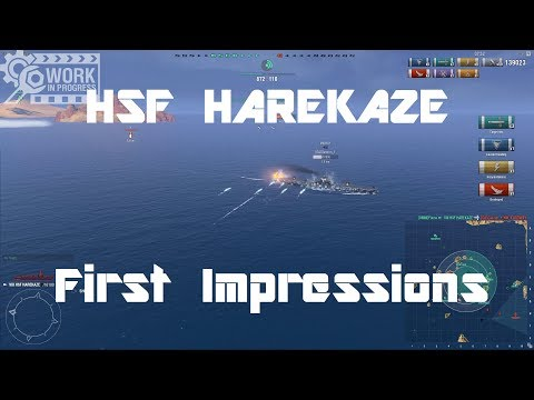 HSF Harekaze [WiP] - First Impressions