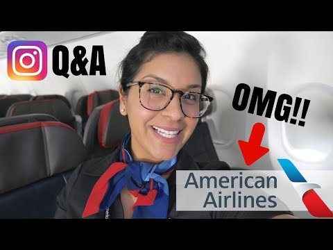 Instagram Q&A  |  American Airlines Announcement!!!!!  |  Flight Attendant Life