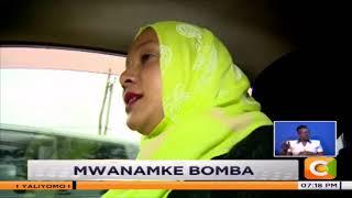   MWANAMKE BOMBA   Mwanamke wa kwanza muislamu dereva wa teksi