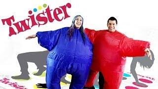 """CHUBBY TWISTER"" Twister - Husband vs Wife"