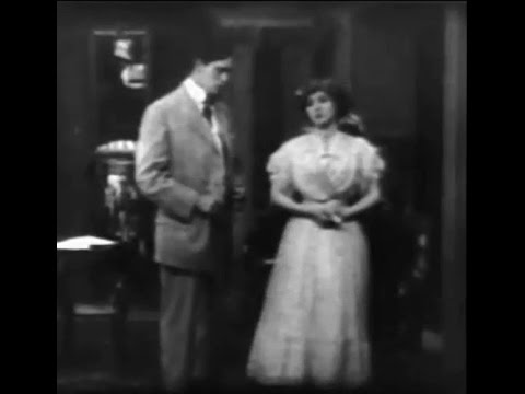 """The Way of Man"" (1909) starring Arthur V. Johnson and Florence Lawrence"