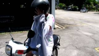 Girl Rides Motorcycle ALONE For First Time