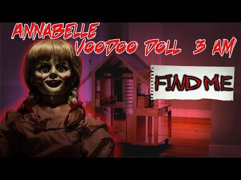 (SHE PLAYS) DO NOT PLAY WITH A ANNABELLE VOODOO DOLL AT 3 AM | SUMMONING ANNABELLE TO PLAY AT 3 AM