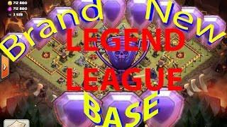 Clash Of Clans -BEST NEW TOWNHALL 10 WAR/LEGEND LEAGUE BASE - 275 WALLS